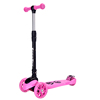 High quality portable kids 3 pu wheel foldable kick scooter for wholesale