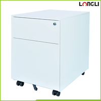 Commercial office furniture metal white filing cabinets mobile pedestal drawers second hand filing cabinets