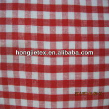 100% cotton Gingham check fabric for shirt fabric