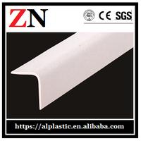 good quality Plastic wall corner guard protection angle hospital
