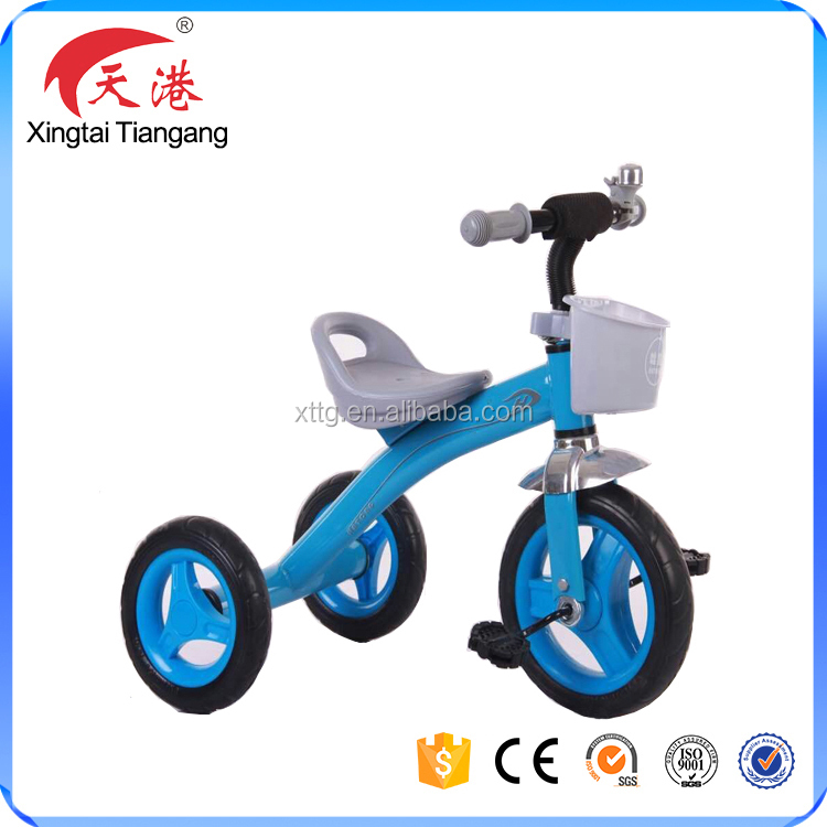 Popular good quality smart pedal or push kids three wheel bike,baby tricycle,children ride on car with bottle/basketry
