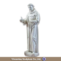 High quality church religion marble saint rita statue