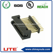 factory price pin header, double rows, dip