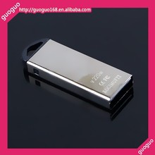 USB flash drive disk thumb stick memory carry metal sliver
