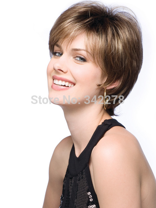 Buy Fashion New Womens Womens Cut Hairstyle Synthetic Wigs Short