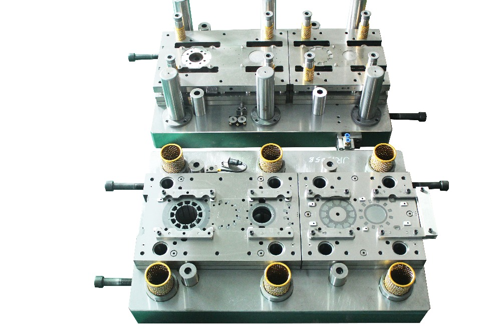 High precision progressive stamping die with stator and rotor in china