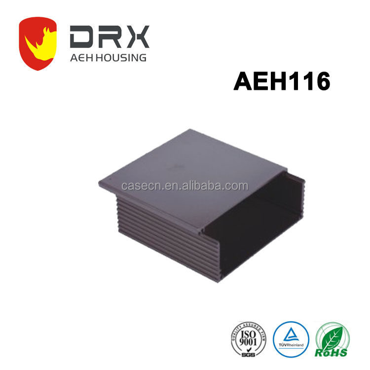Customized Size Extruded Aluminum Electrical Extrusion Profiles Enclosure