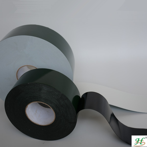 Black and white solvent resistance adhesive PE foam tapes