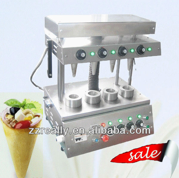 Hot sale cone pizza machine for fast food restaurant with high efficiency