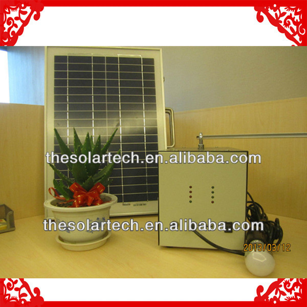 20W solar lighting for electric