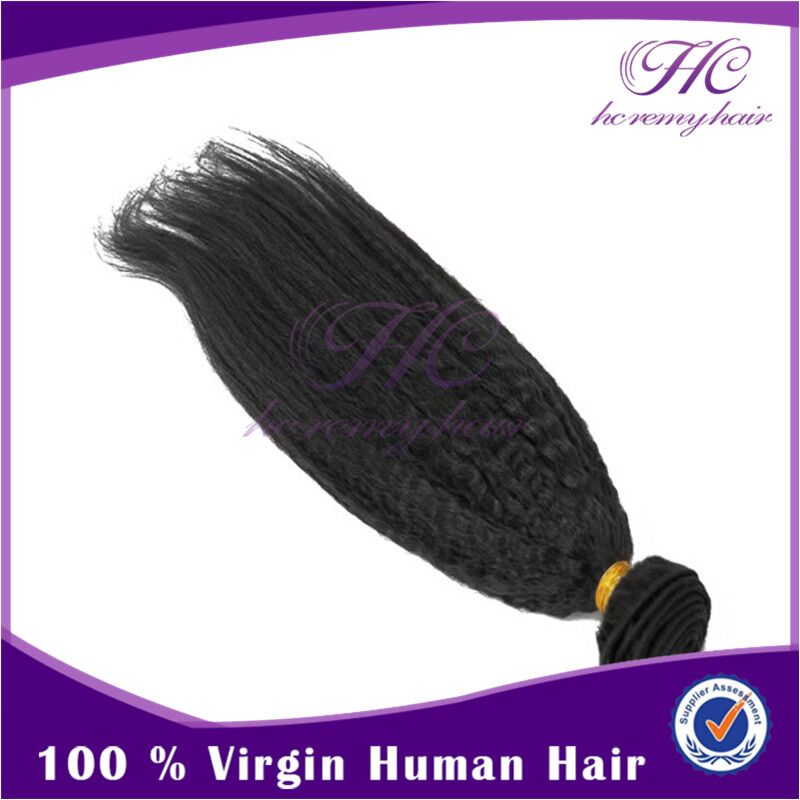 All Products Wholesale Virgin Indian Remy Black 100 Human Yaki Weave Wavy Hair Extensions