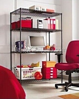 Heavy Duty Wire Shelving Office File Stands