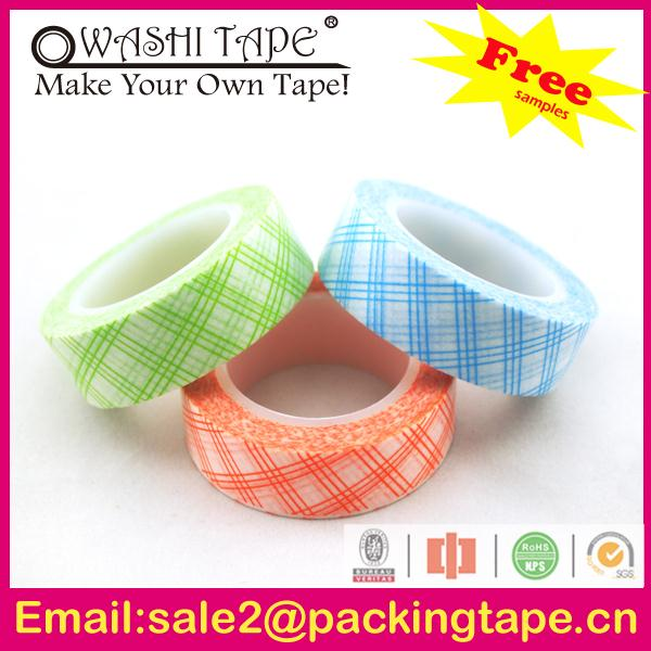 Wholesale fantastic sungjin washi paper masking tape