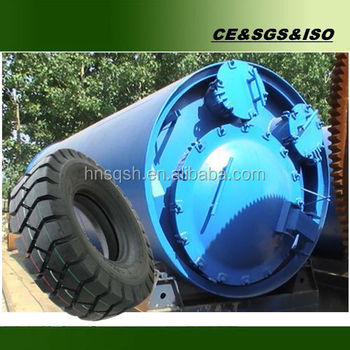 2016 Hot Sale: waste rubber pyrolysis equipment from china market