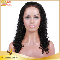 Model Head With Crown Human Hair Wigs White Women