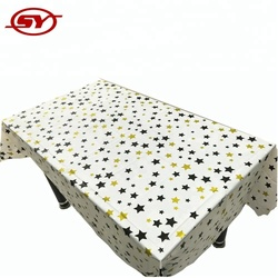 star design wholesale disposable custom table cover