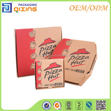 Corrugated pizza paper box with high quality
