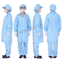 disposable protective high quality workwear china supplier staff uniform polyster dust lab smock cheap antistatic coverall