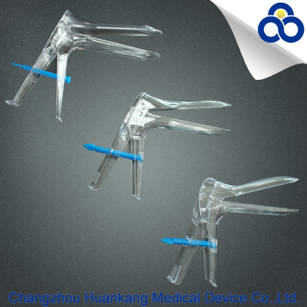 Vaginal speculum plastic medical disposable vaginal speculum without light source