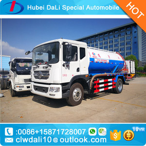 vacuum sewage suction truck with low price