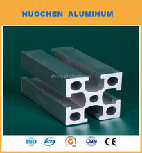 6061 6063 aluminium extruded round bar/rod Industrial Aluminum Profiles