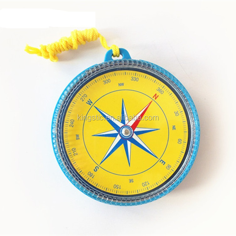Children teaching compass