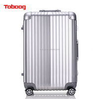ABS+PC China Supplier Aluminium Luggage case with TSA lock Factory Price Hard case Hot Sale