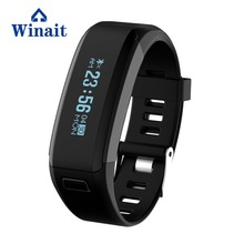 IP 68 Waterproof Smart Bracelet Smart Buletoth Bracelet With Heart Rate Monitor/ Pedometer/ Vibrating Motor/ Sleeping Monitor