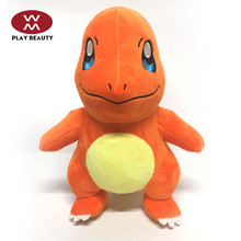 Hot Sale Cartoon Plush Toy Cute Pikachu Squirtle Charmander Pokemon Stuff Plush Toy Birthday Christmas Gift For Kids