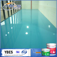 Chinese goods wholesales water base epoxy floor paint