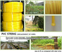 Wire lock for greenhouse, agriculture polyester wire