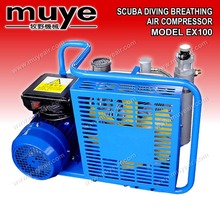 High Pressure scuba diving air compressor, paintball air compressor air filling for cylinder 100L/M 200bar 330bar