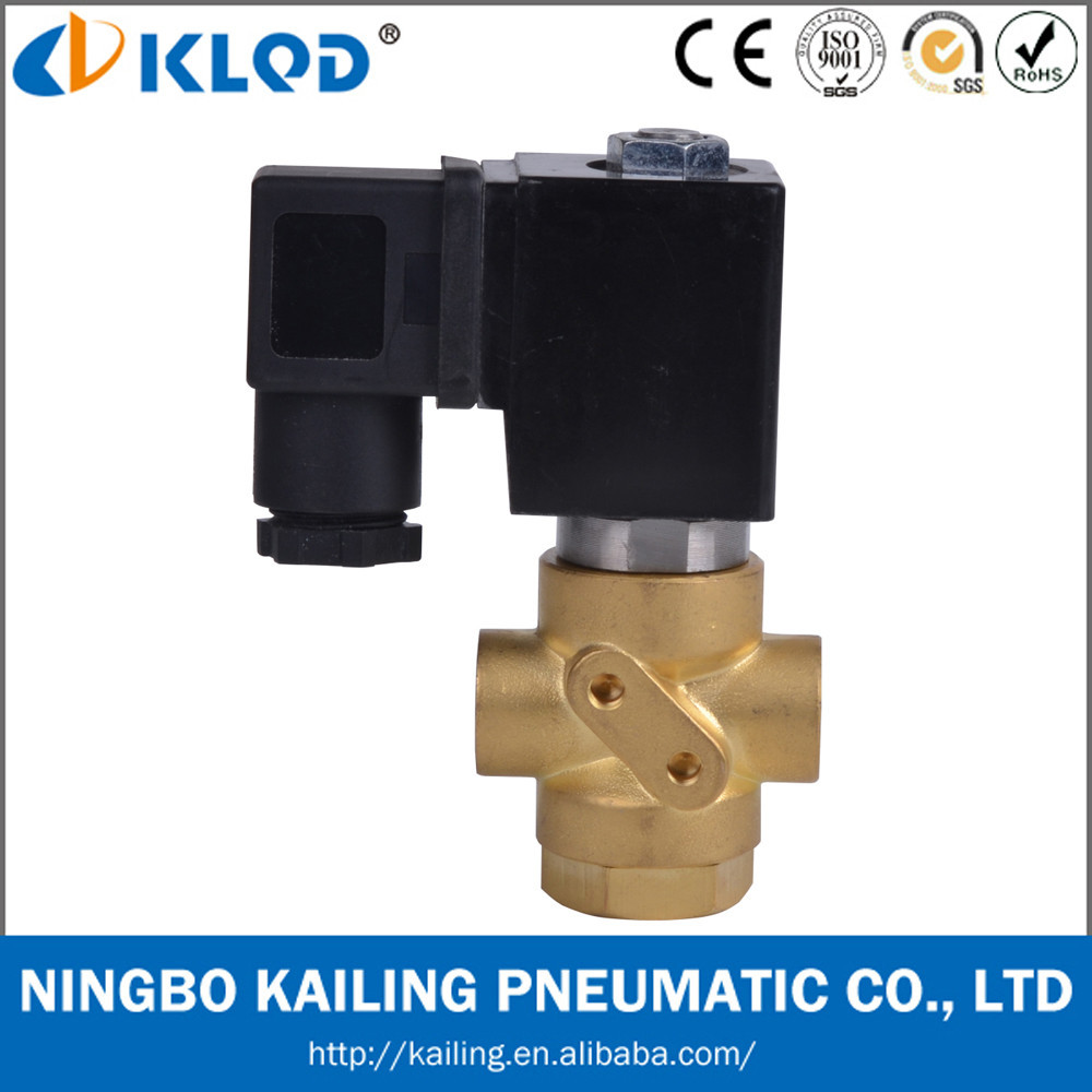 Normally closed 3 Way Solenoid Water Valves VX31Model