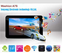 7 inch 800x480 capacitive touch screen A13 tablet pc support GSM 2g phone call, wifi,dual camera