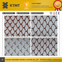 decorative hanging aluminum alloys metal chain link curtain