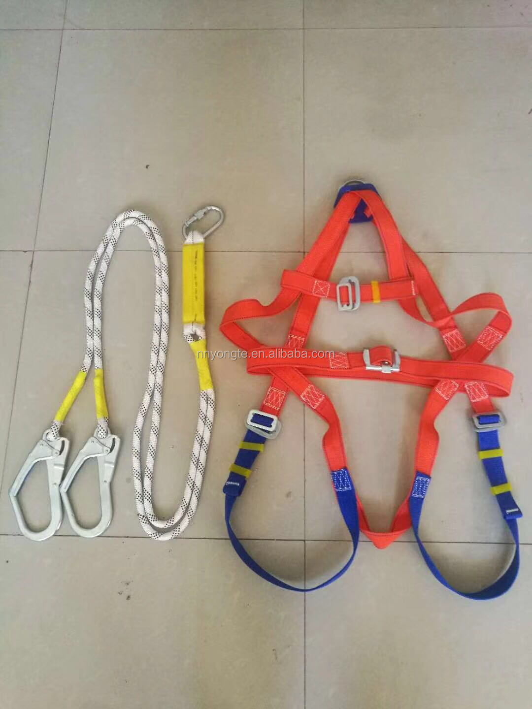 CE full body rock climbing baby safety harness/safety harness parts
