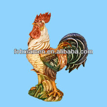 Antiques Decorative Ceramic Chickens And Roosters