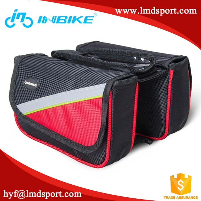"OEM Bicycle Waterproof Smartphone Bag Bike Handlebar Phone Bag 5.5"" Touchscreen bag"