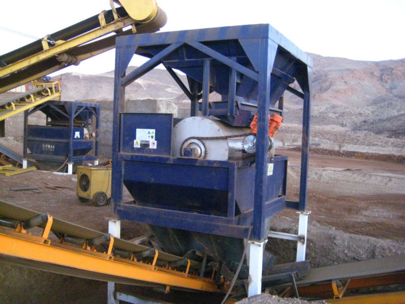 The mobile system of iron ore up gradation (Full-scale)