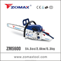 steel chain saw 54.5cc ZM5600 small electric saw for wood machine
