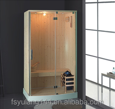 AD-971 1200x900mm small size wooden health cabin saunas portable mini sauna room