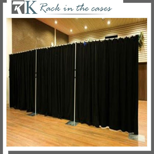 Room Divide Curtains Fabric with Supporting Pipe for Restaurant