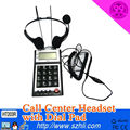 call center Caller-ID Headset lcd pstn telephone with dialer PHONE DIALPAD