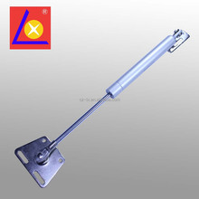 Gas spring for kitchen cabinet door with bracket