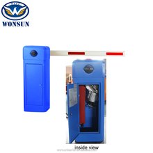 Parking System Remote Control And Swing Out Manual Barrier Gate With Auto Arm Reverse
