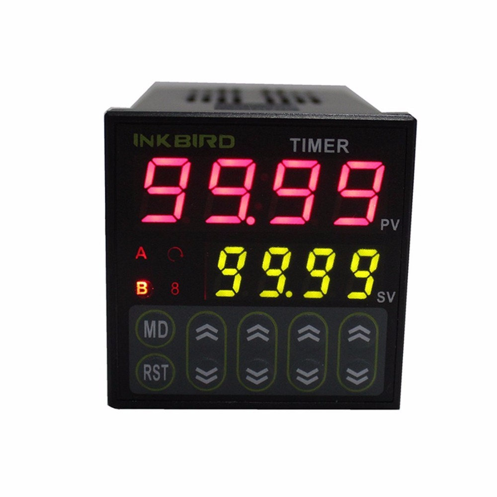 Inkbird IDT-E2RH switch programmable digital <strong>timer</strong> with dual display