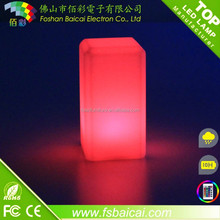 battery operated decorative cordless led table lamp,bar led lighting furniture