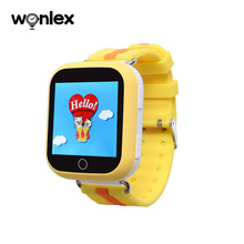 Bluetooth-enabled baby smart watch Q90 gps watch phone with long life battery