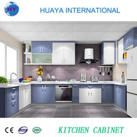 2015 New Design UV Kitchen Cabinet Color Combination