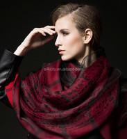 100% Hand Knit Wool Scarf Pashminas Shawl